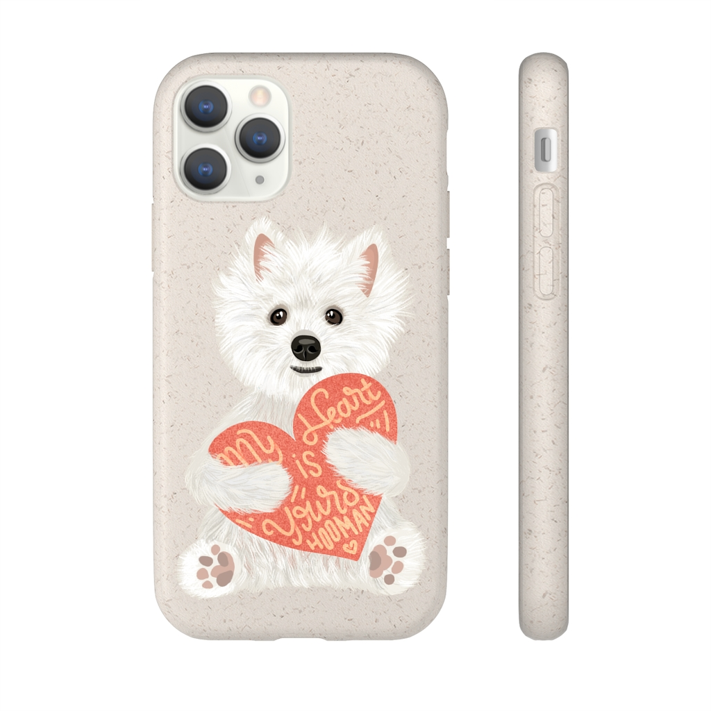 5 Perfect Gifts for Westie Lovers in 2021 - Westie Smartphone Biodegradable Case