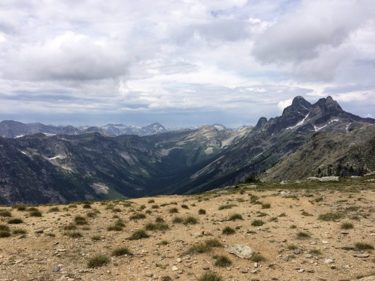 View from the saddle