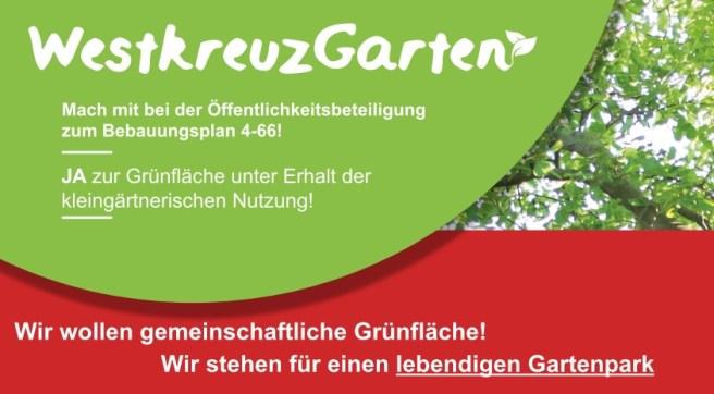 Bebauungsplan am #WestkreuzGarten