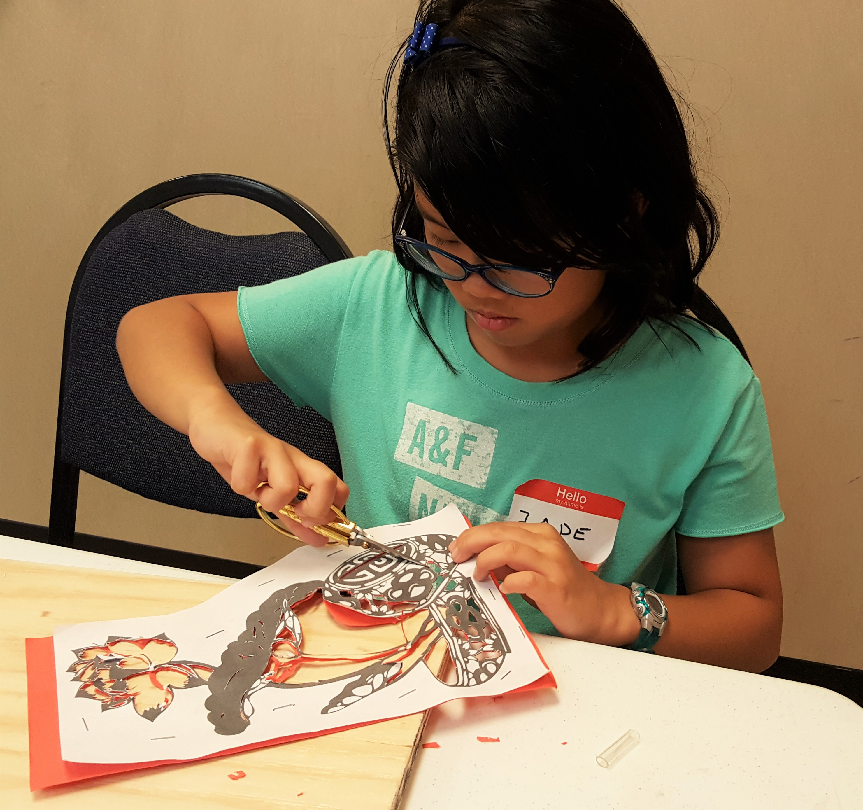 Paper Cutting Chinese Arts Camp
