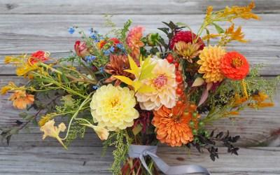 October Garden Wedding