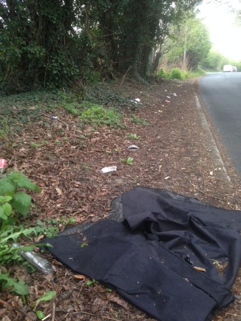 gamble lane rubbish 2