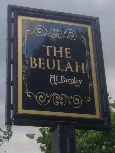 beulah pub sign
