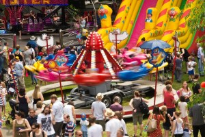 All the fun of the fair. Photo Martin Walker/Kirkstall Festival