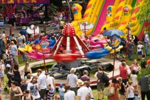 All the fun of the fair. Photo Martin Walker/Kirkstall Festival