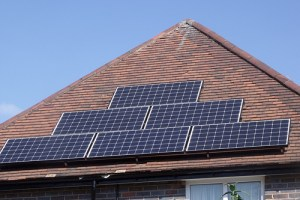 Properties in Swinnow are set for free solar power. Photo used under Flickr Creative Commons License by Elliott Brown
