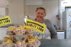 Bramley Challenge baking produce competition