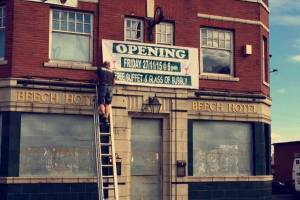 Beech Hotel, Tong Road, is reopening