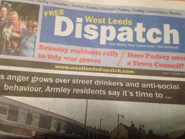 West Leeds Dispatch newspaper