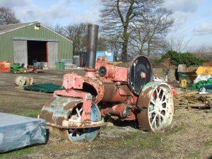 Pudsey Park steamroller