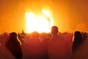 Bramley bonfire