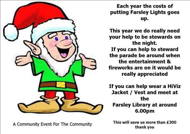 Farsley Christmas Lights 2015