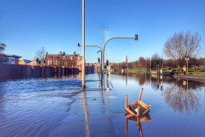 Kirkstall Road floods