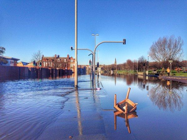 Kirkstall Road floods Leeds