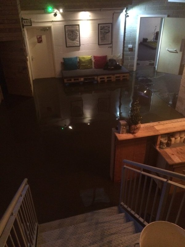 blueberry studios flood