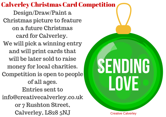 Calverley Christmas Card competition