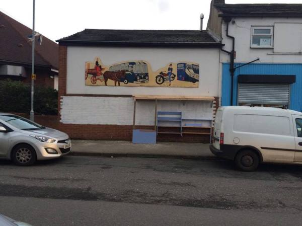 armley junktion kindness wall