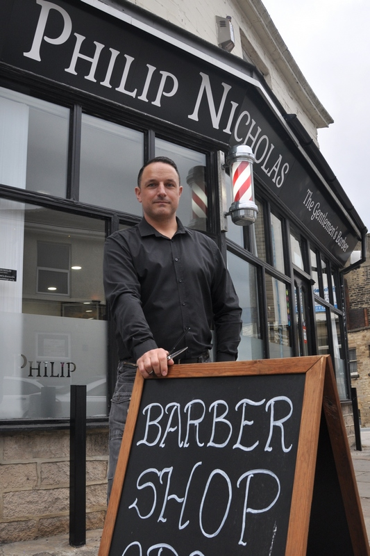 philip nicholas wet shave barber