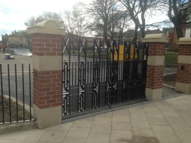 pudsey park entrance