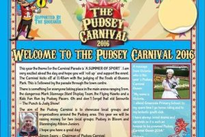 pudsey carnival 2016
