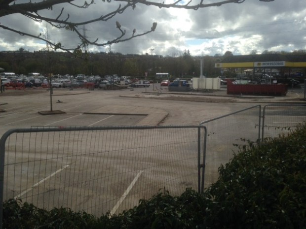 Kirkstall morrisons car park