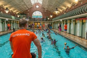 Bramley baths lifeguards