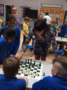 chess five lane ends primary school