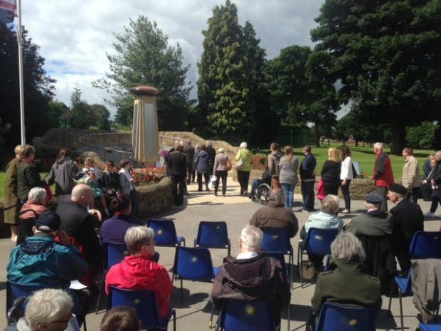 Bramley Somme remembrance
