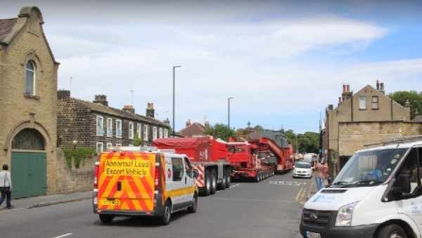 broad lane wide load