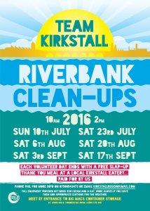 team kirkstall riverbank cleanup