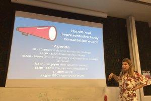 hyperlocal representative body