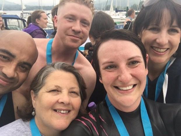 Rachel Reeves Great North swim