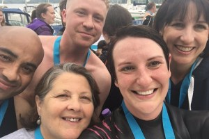 Rachel Reeves Great North swim