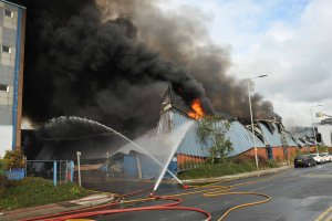 Whitehall Road fire