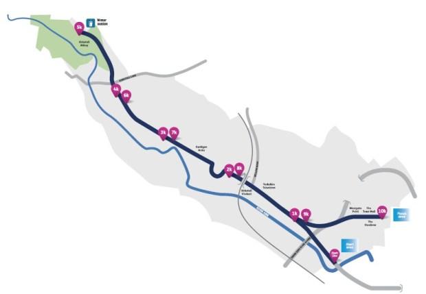 Abbey dash road closures 2016