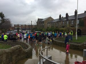 Bramley Parkrun start.