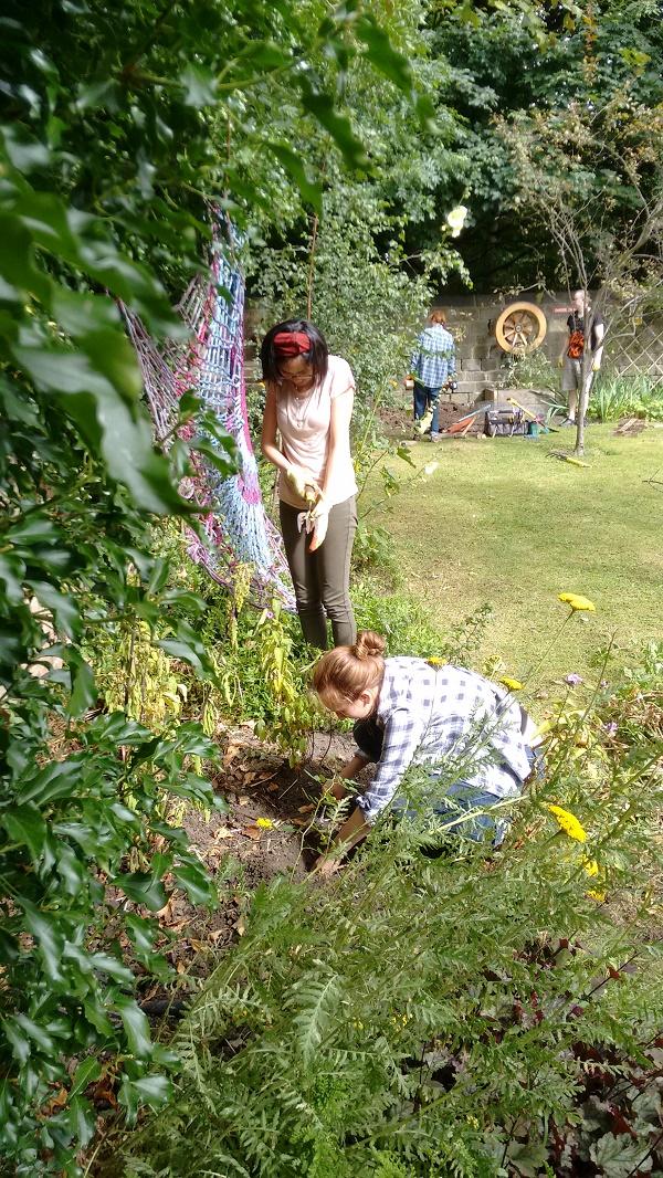 Armley Mills gardening