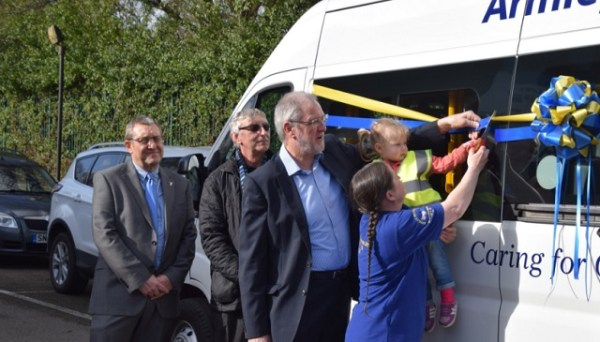 armley helping hands new minibus