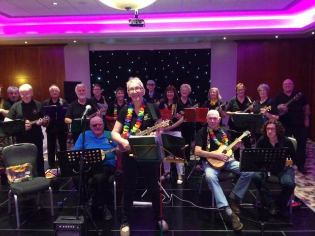 lesley whiteley pudsey ukulele group
