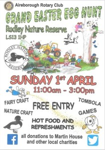 easter egg hunt rodley nature reserve
