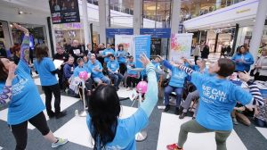 White rose dancing with parkinsons