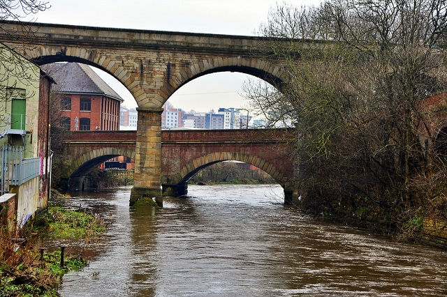 Mark's History: Crossing the River Aire