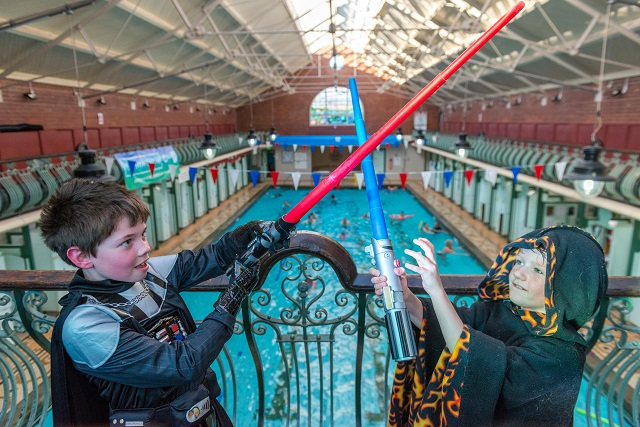 'May the splash be with you' at Bramley Baths this half term