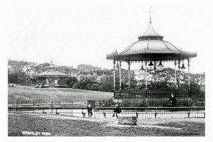 Bramley Park Bandstand 1908.. (1)