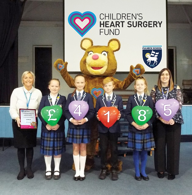 Fulneck School. Children's Heart Surgery Fund Presentation