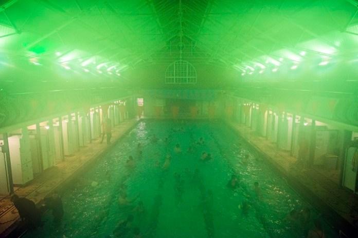 Terrifyingly good half-term fun at spooky Bramley Baths