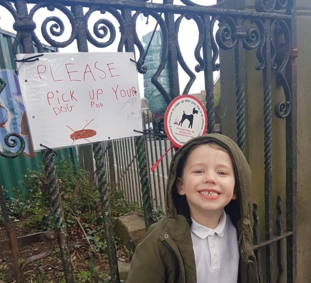 Armley mums and children urge dog owners to 'scoop the poop