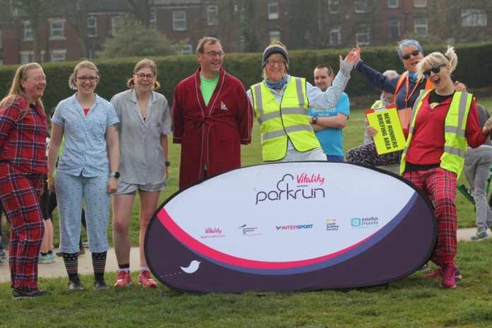 Simon's Snaps: Runners welcome return of Bramley Parkrun
