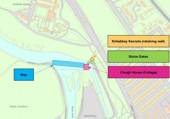 kirkstall abbey plans