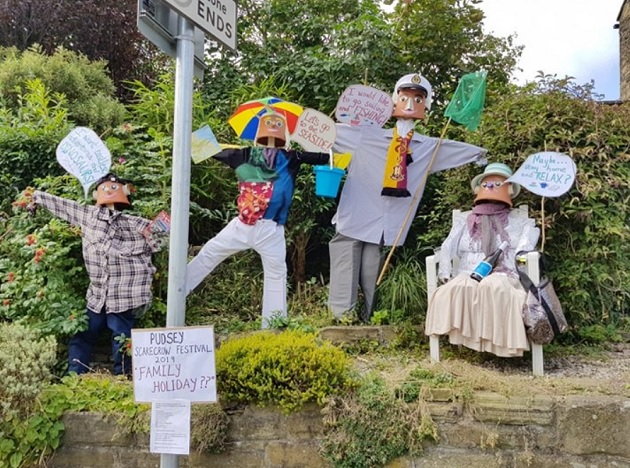 pudsey scarecrow festival 1